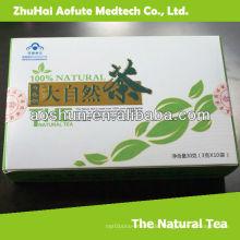 100% natürlicher dünner grüner Tee