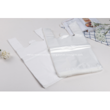 Bolsa de camiseta de plástico de compras