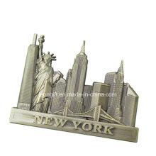 Werbeartikel Großhandel günstige New York-Kühlschrank-Magnet