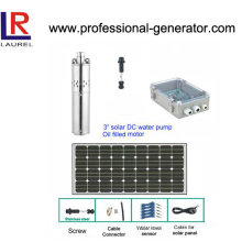 "3"" Stainless Steel Solar Pump with Panels"