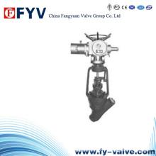 Válvula de globo tipo Y de alta temperatura / alta presión API