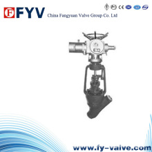 API High Temperature/High Pressure Y-Type Globe Valve