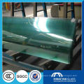 China clear unbreakable tempered glass sheet price