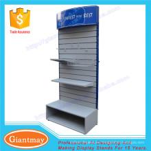 soporte de la exhibición del panel de pared del listón de la tienda al por menor