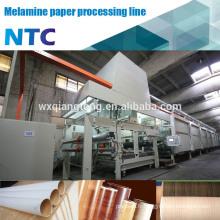 Ligne d'imprégnation de papier / ligne de traitement de papier mélamine