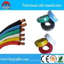 Thw Draht PVC Kabel Elektrisch Thw Draht CCA Draht CCA Kabel Elektrischer Draht AWG Größe Elektrische Verdrahtung Elektrische Draht Namen
