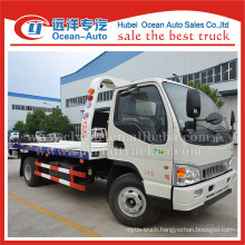 JAC 4 TON carrying capacity rotator tow truck sale