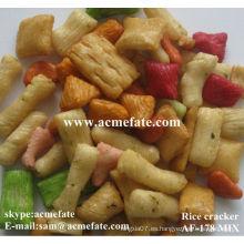 Galletas japonesas del arroz