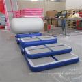 La estera inflable del aire del gimnasio de la venta caliente fijó la edición casera para la práctica