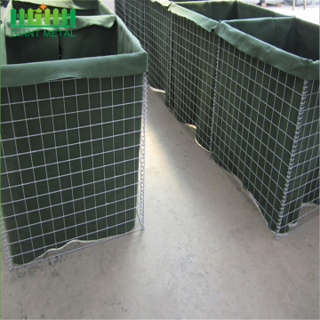Barreira de Hesco Bastion Welded Gabion Box Explosion