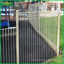 Золотой поставщик поставки высокого качества рулон верхний забор для продажи