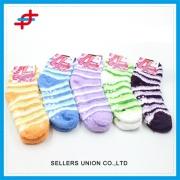 Custom Anti-slip Knitted Sock Floor Sock Microfiber Socks