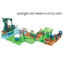 Blocos Tracks Toy com melhor material