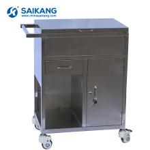 SKH019 Chariot de traitement médical de luxe avec des tiroirs
