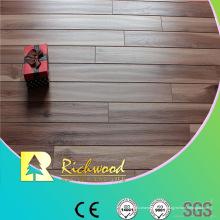 Plancher en stratifié imperméable de chêne de gaufrage du ménage 12.3mm AC4