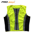 en471 reflective fabric vest with  zipper