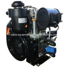 Twin Cylinder Air Cooled Diesel Engine 25 HP (292F)