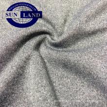 Melange CD Polyester Interlock Jersey Stoff für Sporthosen