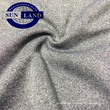 melange CD polyester interlock jersey fabric for sports trousers