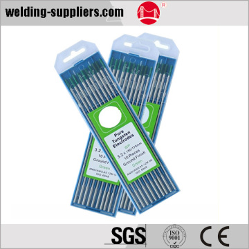 Pure tungsten electrodes of tig welding consumables