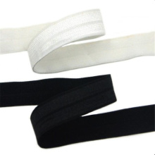 Shiny Trim Polyester Ruffle Elastic Band 5/8""