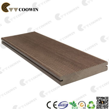 High strength solid wpc outdoor flooring