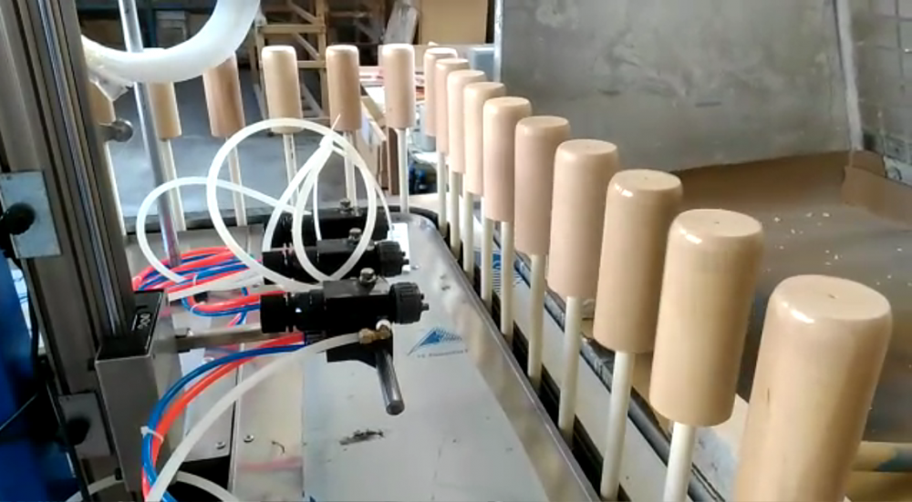 automatic spray coating for Wood Sofa Leg