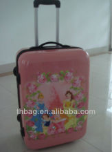 Imprinted abs travel trolley luggages
