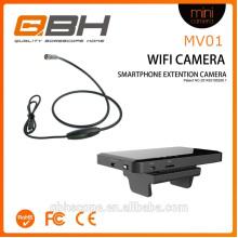 Câmera de cobra de câmera de inspeção de smartphone de videoconferência