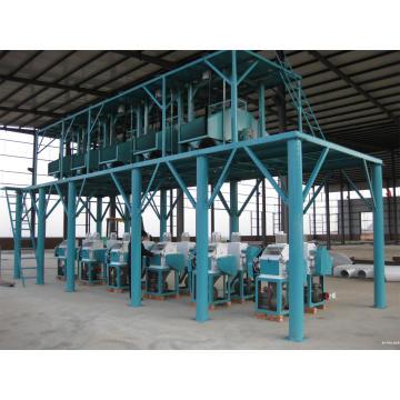 Ganze Set Mehl Fräsmaschine (6FTF-8), Automatische Weizenmehl Fräsen