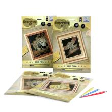 Youth DIY Art Sets Scratch Paper Cards