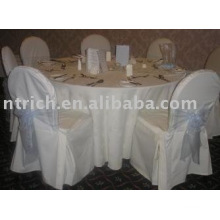 nappe polyester 100 %, couverture de table de Banquet/Hotel, linge de table