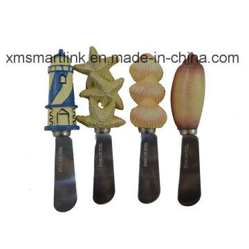 Resin Handle Butter Knife, Stainless Steel Butter Knife