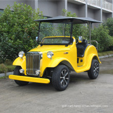 Ce Electric Sightseeing Car Classic Style 4 Seater