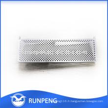 Pièces en aluminium de logement de puissance de l'aluminium AL102 d'estampillage