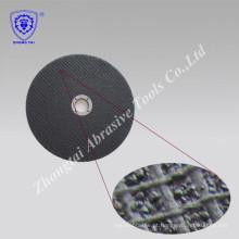 Bom desempenho de corte e rebolo de resina para metal