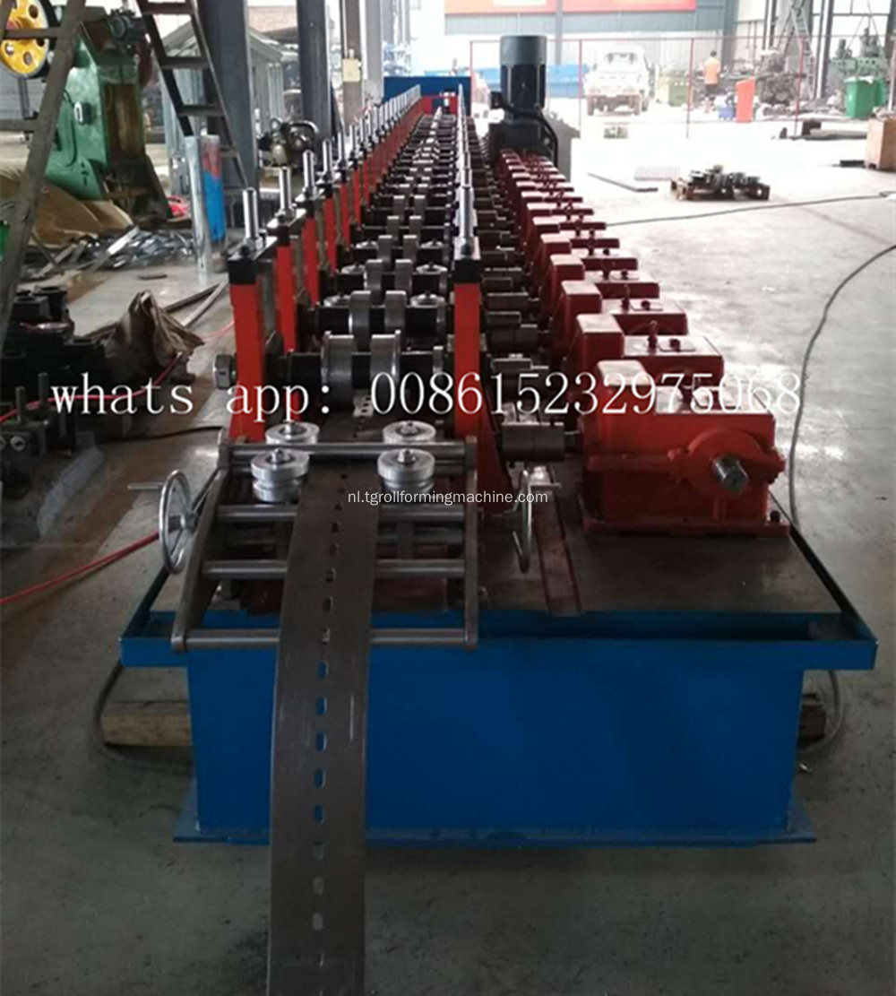 Slotted Utility Channel-machine
