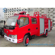 Dongfeng 4X2 3m3 Water Foam Tank Fire Fighting Truck