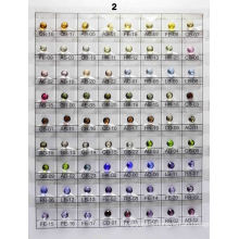 Glass Color Chart A2