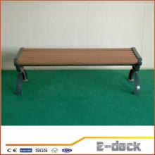 Material verde alta calidad fácil instalada Plataforma compuesta plástica de madera de Wpc del banco