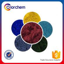 Buenos pigmentos de cerámica con resistencia al calor