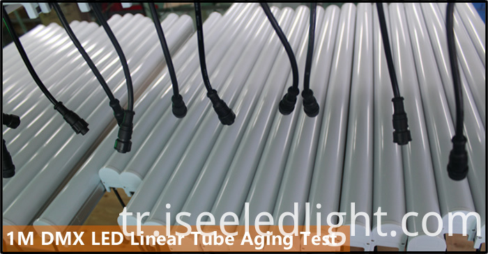 RGB LED Tube DMX