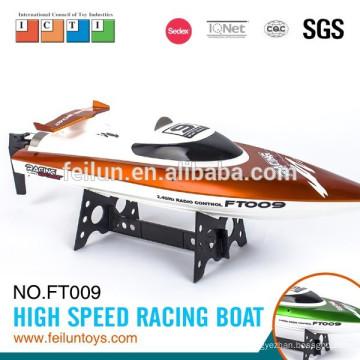 ft009 2.4 G 4CH 46cm haute vitesse grand bateau rc avec de l'eau, système de refroidissement pour certificat CE/FCC/ASTM vente