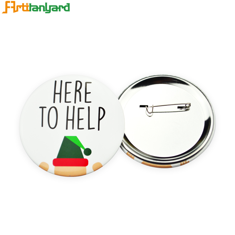 Factory Price For Button Badges