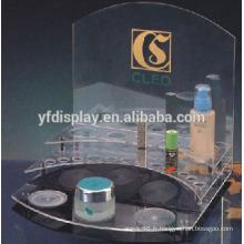 Support de présentoir de cosmétiques acrylique de haute qualité