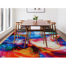 Tapis de tapis imprimé en polyester