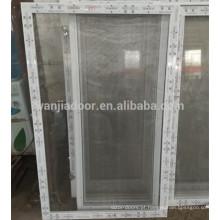 janelas deslizantes do pvc da rede do mosquito