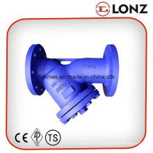 Pn40 DIN литой стальной фланцевый Y-образный фильтр