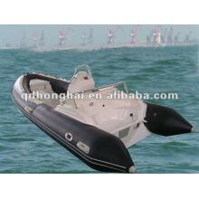 Barco de la costilla de CE tapa de fibra de vidrio casco HH-RIB470C
