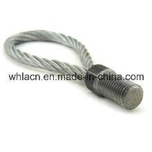 Boucles de levage de béton préfabriqué avec le câble d'anneau pour des pièces de construction (2.5T)